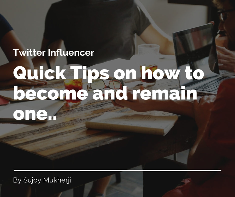 post60 - Twitter Influencer (Quick Tips on How to Become and Remain One)