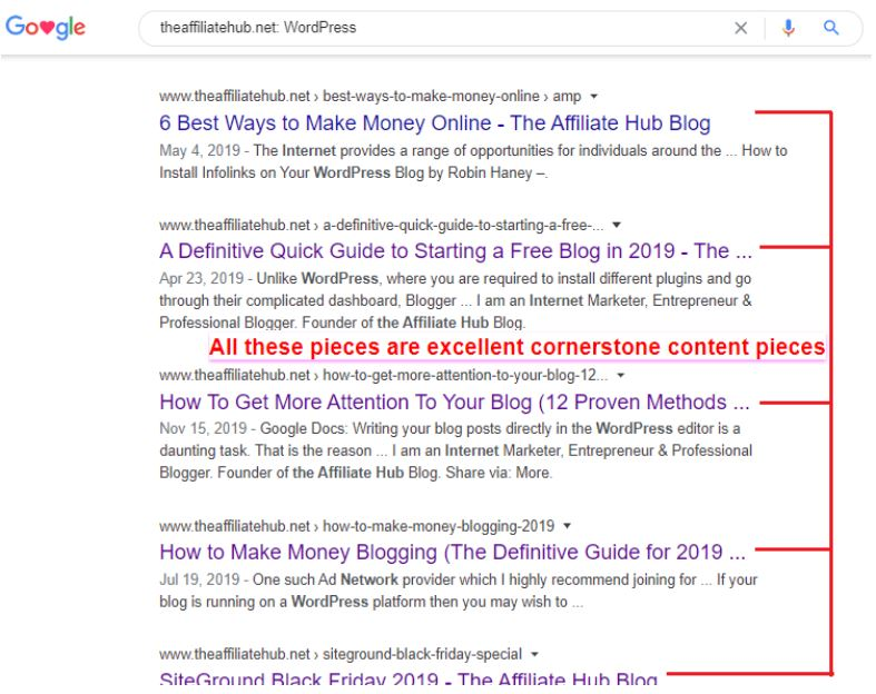 cornerstone pieces - How to Use Cornerstone Content Pieces to bring Non-Stop Traffic to Your Blog