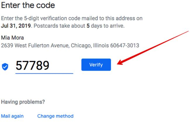google listing verification code - Incorporate Google Business Listing To Your Site