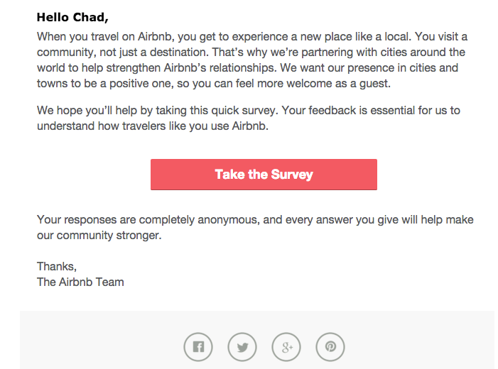 airbnb survey - How to Get Customer Feedback You Can Use for Your Business