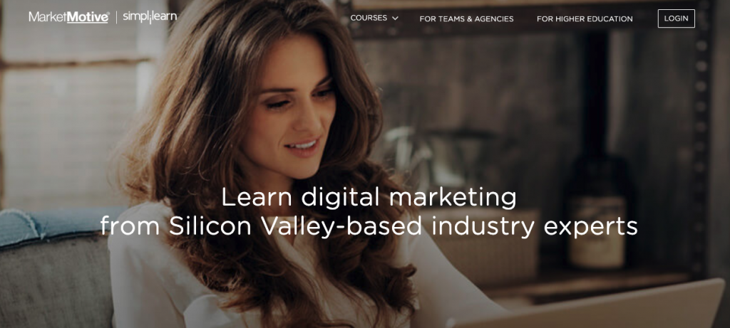 masters in digital marketing market motive - 5 Great Digital Marketing Courses