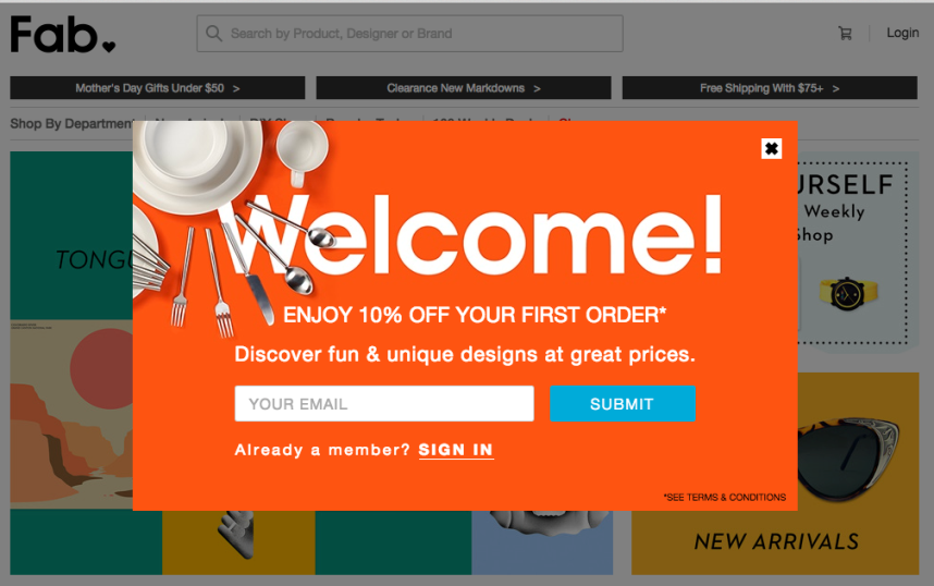 popup forms example - 5 Simplest Affiliate Marketing Strategies That Still Work