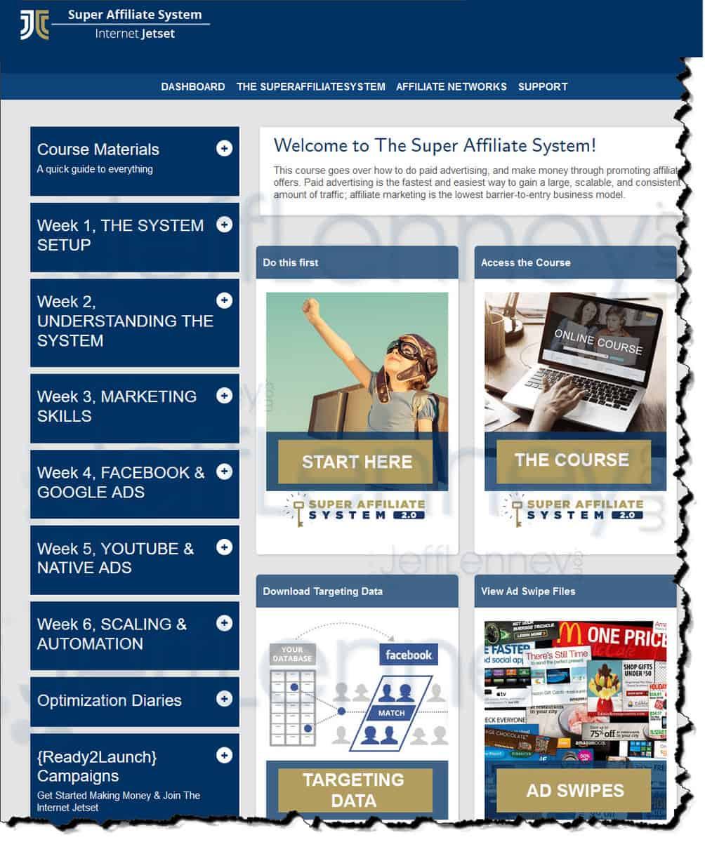 super affiliate system members area - Super Affiliate System Review 2021: Is It Worth The Money?