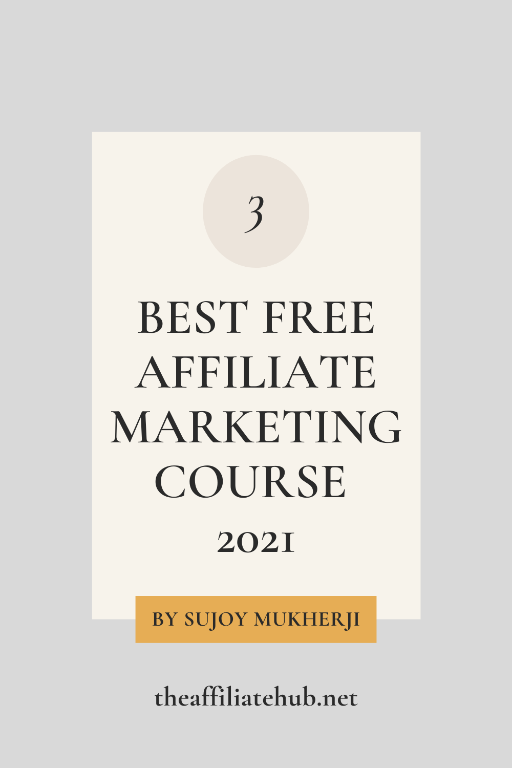 3 best free affiliate marketing course - 3 Best Free Affiliate Marketing Course 2021